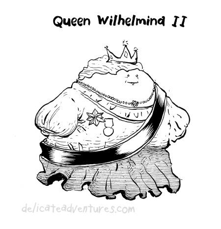 queen wilhelmina ii
